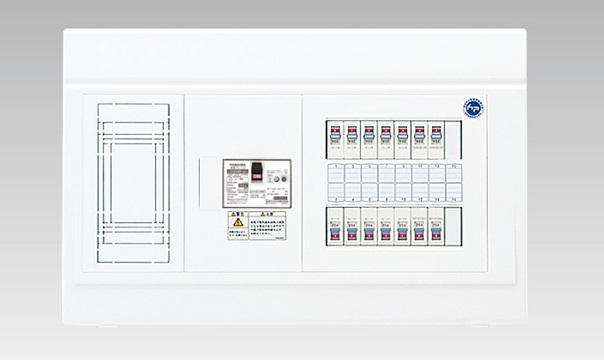 【東芝】小形住宅用分電盤N 扉なし・基本 付属機器取付スペース付 TFNPB13E7-204N