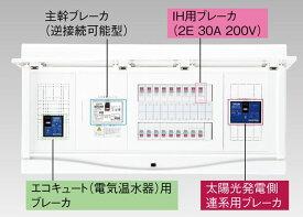 【東芝】小形住宅用分電盤N 扉付・機能付 全電化 50A TFNCB13E5-222STL3B