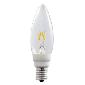 LEDフィラメント電球 シャンデリア形 E12口金 LDC2L-G-E12/D/27/3 【ウシオ】LED電球 【コンビニ受取対応商品】