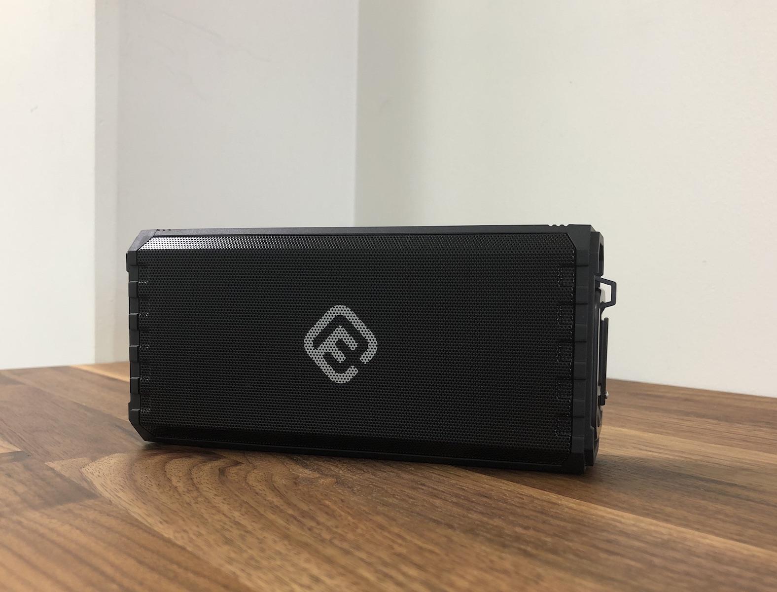 40s Bluetoothスピーカー IPX7 防水 (8Wx2 Bluetooth 4.2 スピーカー) 高音質 大音量 重低音/ポータブル アウトドア ブルートゥーススピーカー/マイクロSD ハンズフリー/iPhone Android対応 【正規販売 1年保証 技適認証済】 HW1