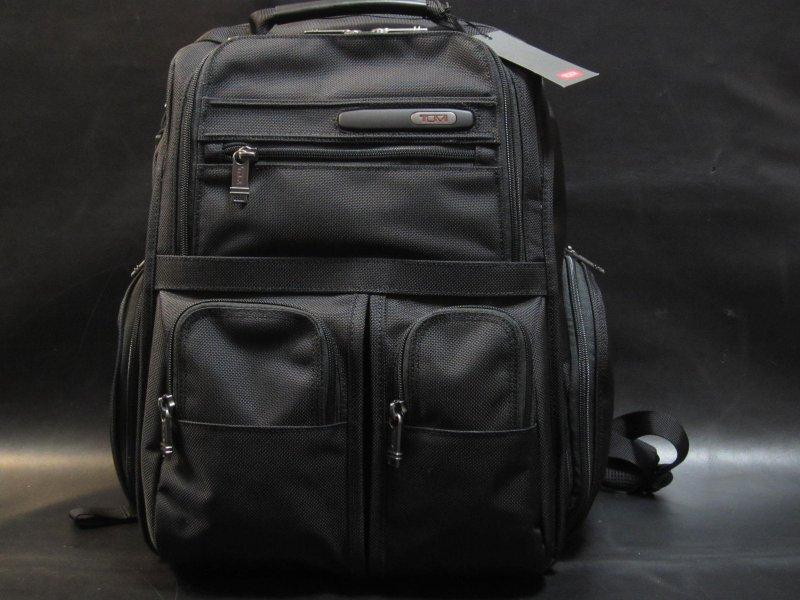 本物正規■TUMI トゥミ■バックパックアルファ d4■黒◆新品/Compact Laptop