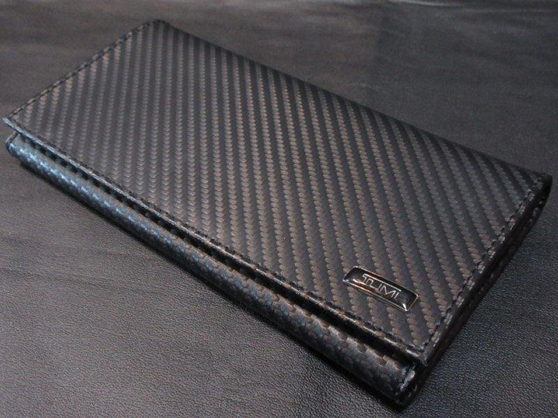 本物正規■TUMI トゥミ■長財布/カーボンファイバー BREAST 黒■新品