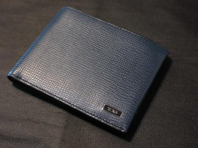 本物正規■TUMI トゥミ■二つ折り 財布/レザー MONACO GLOBAL DOUBLE BILLFOLD COBALT 青■新品
