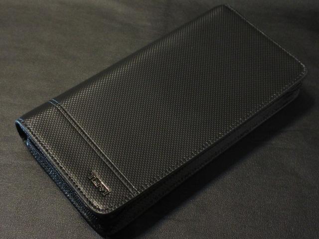 本物正規■TUMI トゥミ■長財布ラウンドジップ レザー DFO HORIZON TEXTURE ZIP-AROUND 黒■新品