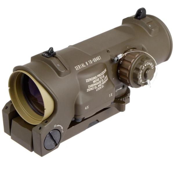 ノーブランド 光学機器 スコープ ELCAN Specter DR タイプ 1/4倍 可変倍率 FDE DXバージョン