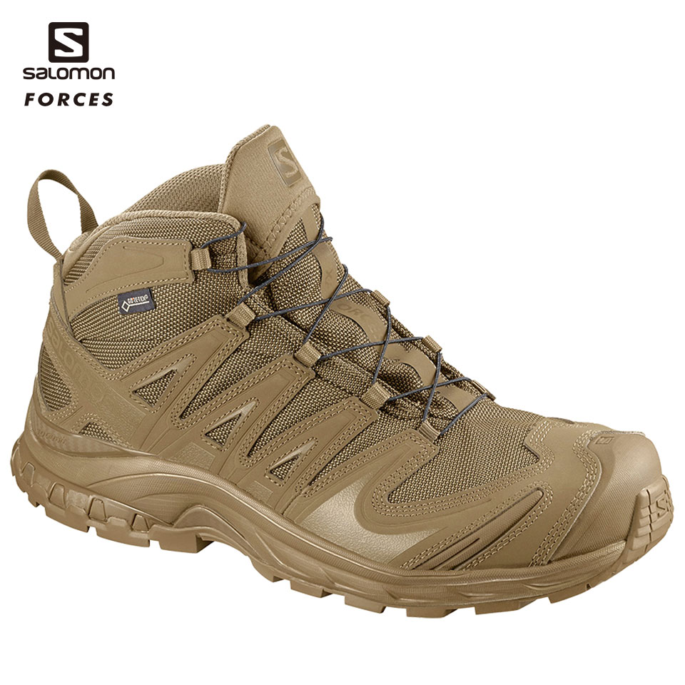 SALOMON FORCES ミドルカット XA FORCES MID GTX CY US7.5(25.5cm) (L4013820025.5) 装備品 靴 タクティカルブーツ サバゲー サバイバルゲーム アウトドア ゴアテックス GORE-TEX