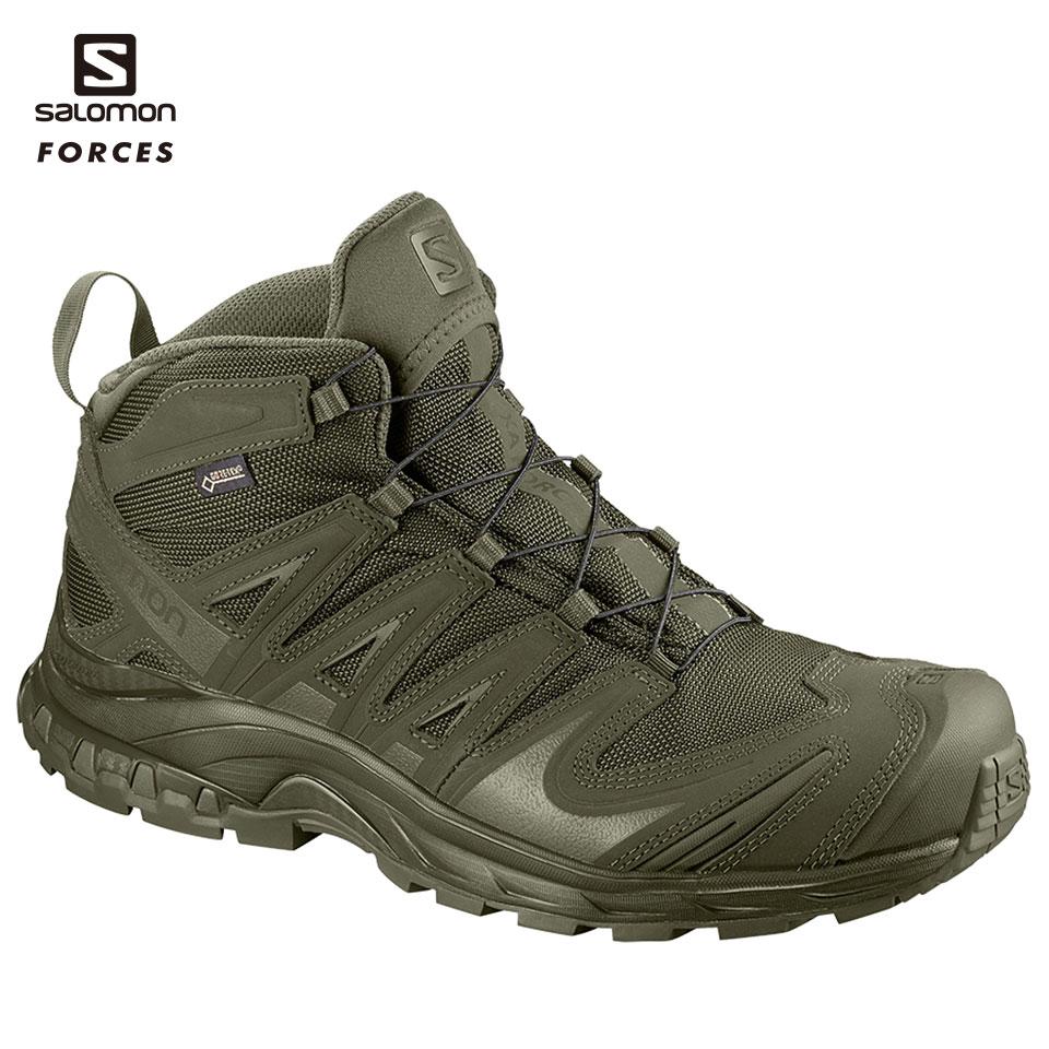 SALOMON FORCES ミドルカット XA FORCES MID GTX RG US9.5(27.5cm) (L4014200027.5) 装備品 靴 タクティカルブーツ サバゲー サバイバルゲーム 服装 アウトドア 服装 ゴアテックス GORE-TEX