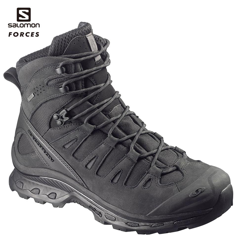 SALOMON FORCES ハイカット Quest 4D GTX Forces BK US7.5(25.5cm) (L3734780025.5) 装備品 靴 タクティカルブーツ サバゲー サバイバルゲーム 服装 アウトドア 服装 ゴアテックス GORE-TEX