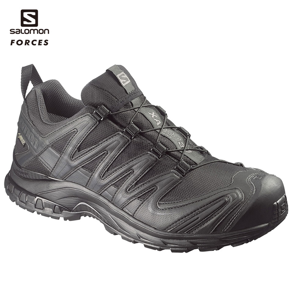 SALOMON FORCES ローカット XA PRO 3D GTX Forces BK US7(25cm) (L3734880025) 装備品 靴 タクティカルブーツ サバゲー サバイバルゲーム 服装 アウトドア 服装