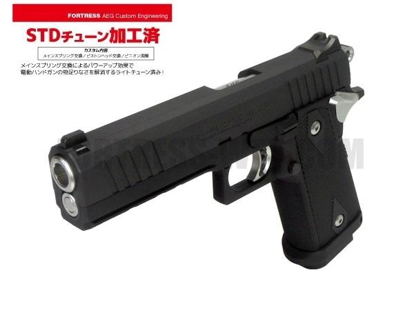 弾速アップチューン STDカスタム施工済み! 東京マルイ ハイキャパE 電動ハンドガン本体 カスタム即納品 (4952839175144) AEP エアガン 18歳以上 サバゲー 銃 Hi-CAPA