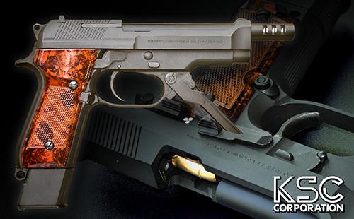 KSC モデルガン ベレッタ M93R ファーストバージョン HW (4544416174017) 1st BERETTA モデルガン本体 18歳以上