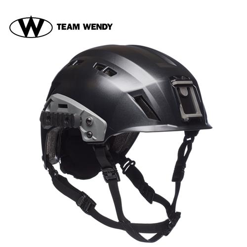 TEAM WENDY (チームウェンディ) ヘルメット本体 EXFIL SAR TACTICAL BK サバゲー 装備