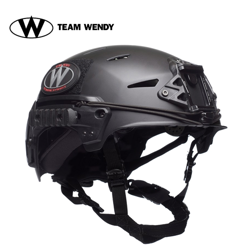 TEAM WENDY (チームウェンディ) ヘルメット本体 CarbonBumpHelmet REVO BK X/L (71-R22S-B22) サバゲー 装備