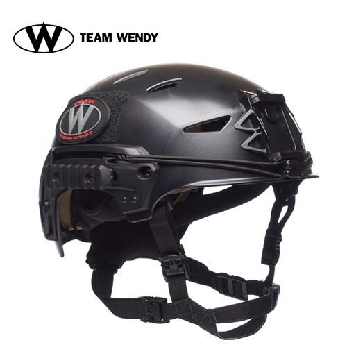 TEAM WENDY (チームウェンディ) ヘルメット本体 EXFIL LTP HELMET BK X/L (72-22S) サバゲー 装備