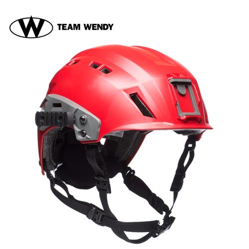TEAM WENDY (チームウェンディ) ヘルメット本体 EXFIL SAR TacticalHelmet Red (81R-RD) サバゲー 装備