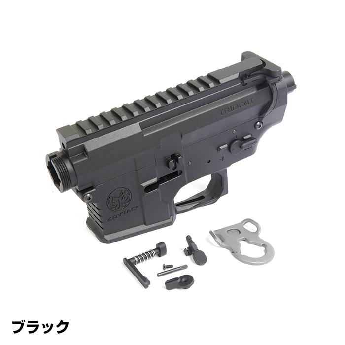 KRYTAC純正 TRIDENT Mk2 メタルアッパー&ロアフレームセット BK (4571443141811) カスタムパーツ 補修 クライタック ライラクス