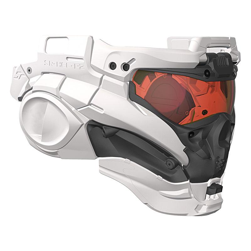 当店限定販売 3 980円以上で送料無料 沖縄 離島は9 800円以上 エアガン 電動ガン ガスガン サバイバルゲーム 装備 割引 創業祭セール 9 sr-hel-p2 FASTヘルメット対応 WHITE 近未来 30 タクティカルヘルメットキット SF 1~9 Type II