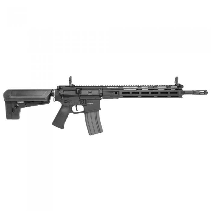 【4/25~5/6限定セール】 カスタム対応品 KRYTAC 海外製電動ガン本体 TRIDENT Mk2 SPR-M BKカラー M-LOK M4 カスタム ライラクス エアガン 18歳以上 サバゲー 銃