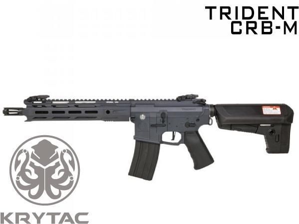 【4/25~5/6限定セール】 カスタム対応品 KRYTAC 海外製電動ガン本体 TRIDENT Mk2 CRB-M コンバットグレー M-LOK M4 カスタム ライラクス エアガン 18歳以上 サバゲー 銃