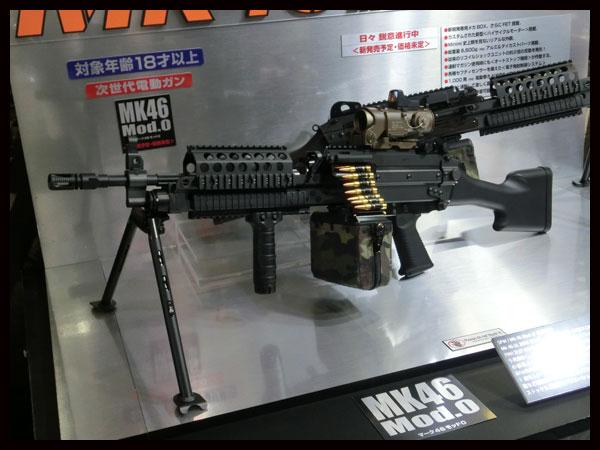 お取り寄せ品 東京マルイ 次世代電動LMG MK46 Mod.0 電動ガン エアガン 18歳以上 サバゲー 銃