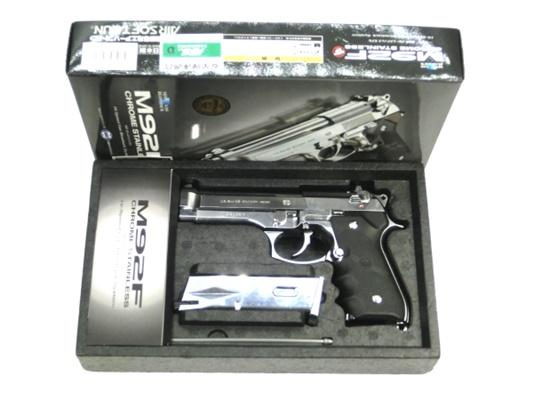 【中古】東京マルイ:ガスハンドガン:M92F SV エアガン 18歳以上 サバゲー 銃