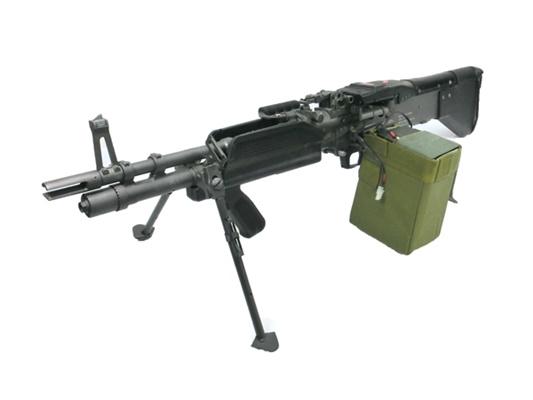 【中古】メーカー不明:電動ガン M60E4 エアガン 18歳以上 サバゲー 銃