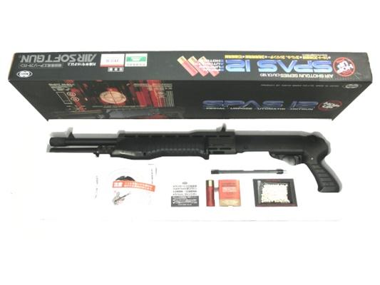 【中古】 東京マルイ:エアコッキングショットガン:SPAS12 エアガン 18歳以上 サバゲー 銃