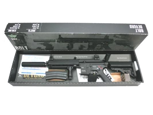 【中古】BOLT:電動ガン:HK416DEVGRU エアガン 18歳以上 サバゲー 銃