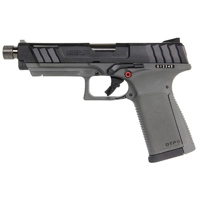 G&G ガスガン GTP9 BK/GREY (GPM-TP9B-ABB) ハンドガン 海外製ガスブローバックガン本体 エアガン 18歳以上 サバゲー 銃