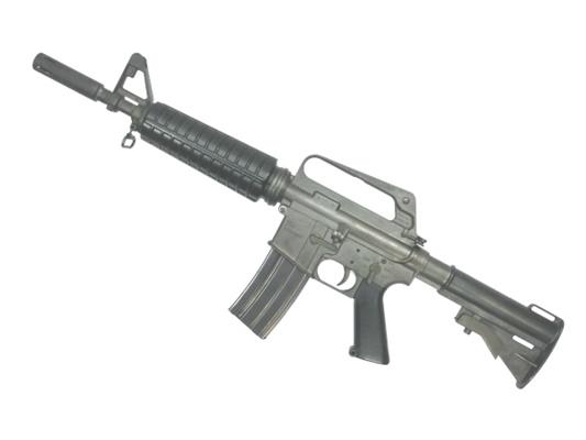 RIFLE カービンモデル 【中古】MGC:モデルガン:M16A2 ASSAULT 銃 鉄製モデルガン サバゲー 725 18歳以上