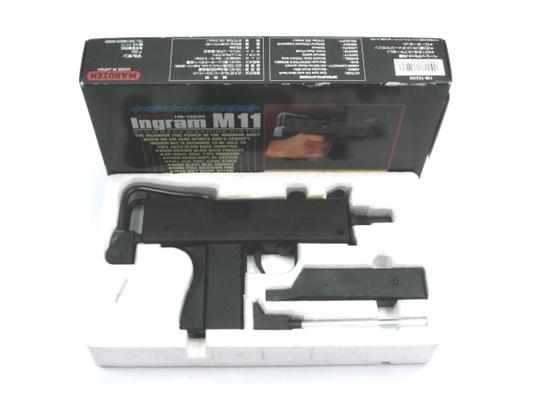【中古】マルゼン:ガスガン:イングラム M11 旧型 18歳以上 サバゲー 銃