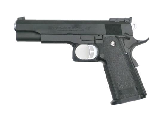 【中古】東京マルイ:ガスブローバックハンドガン Hi-CAPA5.1 BK 18歳以上 サバゲー 銃