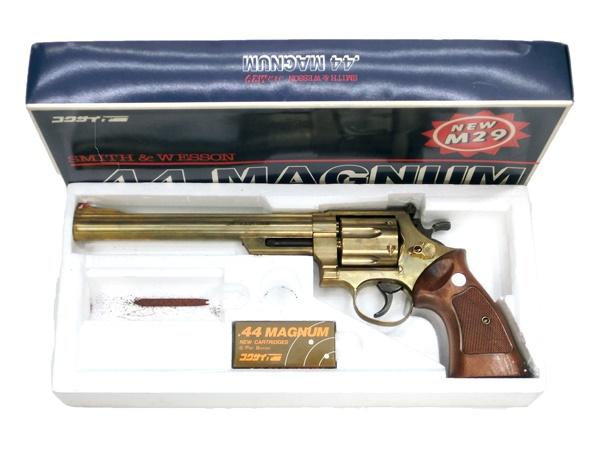 【中古】コクサイ:S&M new M29 44マグナム 8インチ リボルバー (発火状況不明) 18歳以上 サバゲー 銃
