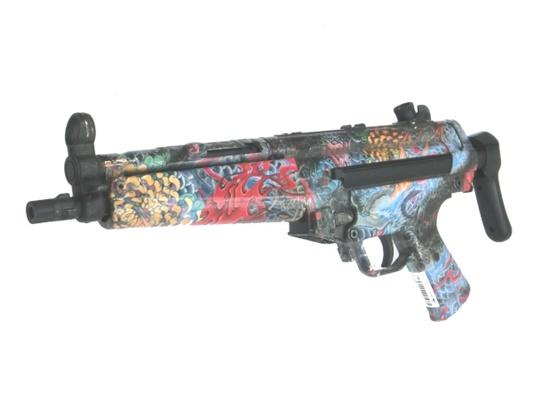 【中古】東京マルイ:電動ガン: MP5A5 水圧転写加工品 18歳以上 サバゲー 銃