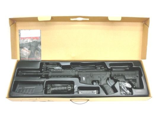 【中古】CAA:電動ガン:M4S1 CQB 18歳以上 サバゲー 銃