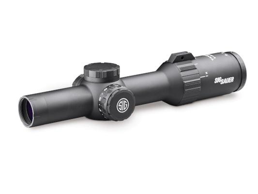 SIG SAUER (シグザウエル)実物光学機器 TANGO4 1-4x24 30mm 556-762Horseshoe BK スコープ