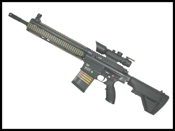 【中古】東京マルイ: 次世代電動ガン: HK417 18歳以上 サバゲー 銃