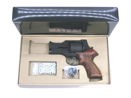 【中古】マルシン:ガスリボルバー:MATEBA 3インチ 18歳以上 サバゲー 銃