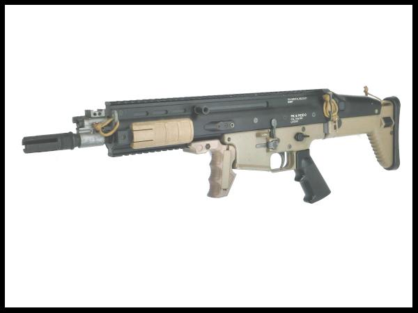 【中古】東京マルイ:次世代電動ガン:SCAR-L CQC 【LR-2EX】 18歳以上 サバゲー 銃