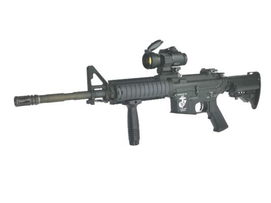 【中古】ノーブランド:電動ガン:M4 RAS ※パーツ組み立て品 18歳以上 サバゲー 銃