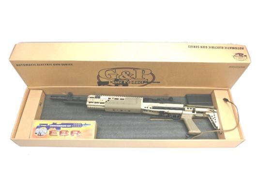 【中古】G&P:電動ガン:M14 EBR コンバージョンキット 組み込み完成品 18歳以上 サバゲー 銃