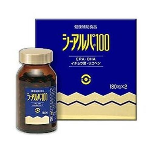 【健食】シーアルパ100 180粒×2個入(日水製薬)