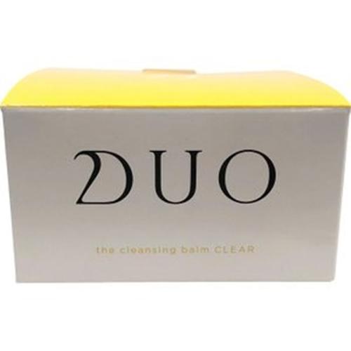 DUO ザ クレンジングバーム クリア 90g [【3個セット(送料込)】※他の商品と同時購入は不可]