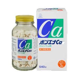 【第3類医薬品】ボンエナCa錠 540錠 [【5個セット(送料込)】※他の商品と同梱は不可]