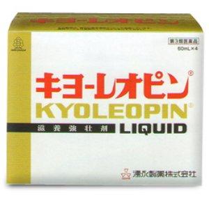 【第3類医薬品】キヨーレオピンW 60ml×4本入 [【4個セット(送料込)】※同梱は不可]