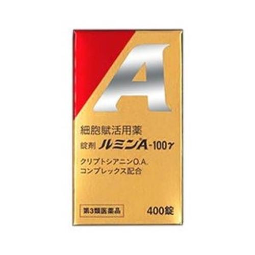 【第3類医薬品】日水製薬 ルミンA 100γ 400錠