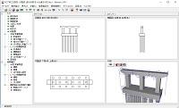RC下部工の設計・3D配筋(部分係数法・H29道示対応) Ver.2(初年度サブスクリプション)