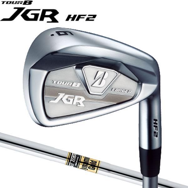 ブリヂストンゴルフ ツアーB NEW JGR HF2 飛び系フォージドアイアン アイアンセット [ダイナミックゴールドシリーズ] スチールシャフト 6本セット(#5~#9,PW) BRIDGESTONE TourB ニュー JGR 2017JGR IRON