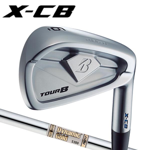 ブリヂストンゴルフ 2018NEW ツアーB X-CB (キャビティバック) アイアンセット [ダイナミックゴールド AMTシリーズ] スチールシャフト 5本セット(#6~#9,PW) BRIDGESTONE TourB XCB IRONX100/S200
