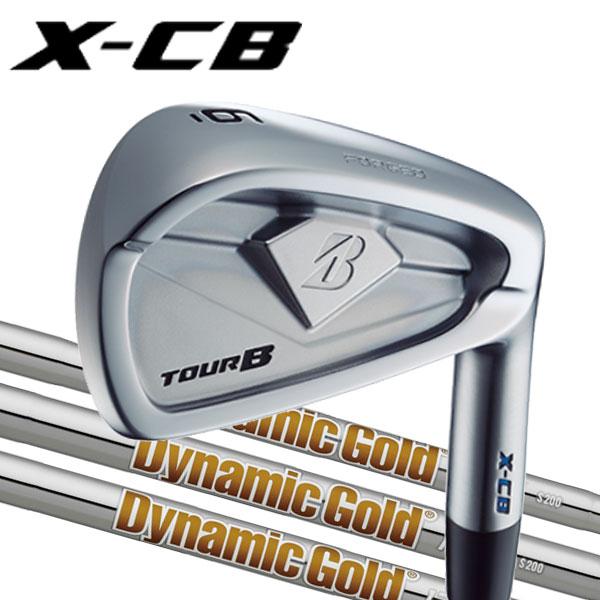 ブリヂストンゴルフ 2018NEW ツアーB X-CB (キャビティバック) アイアンセット [ニューダイナミックゴールドシリーズ] DG120/DG105/DG95スチールシャフト 5本セット(#6~PW) BRIDGESTONE TourB XCB IRONNEW DG